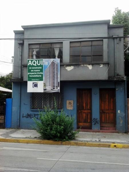 Nuevo edificio de departamentos en calle Maipú, Concepción.