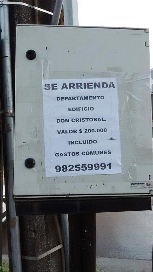 En Concepción, arriendo departamento edificio Don Cristobal