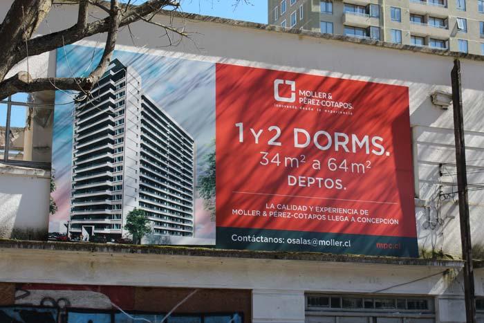 Nuevos departamentos comienzan a construirse en Concepción